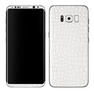 Skin Adesivo Película Capa Fibra Carbono Samsung Galaxy S8