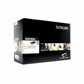 5 Cartuchos De Toner Lexmark T64018sl T64418xl Frete Grátis