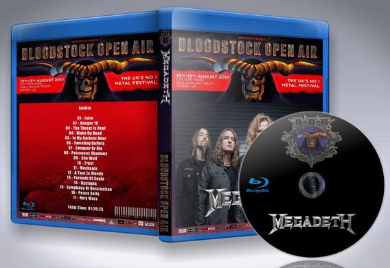 Blu-ray Megadeth - Bloodstock Open Air 2017