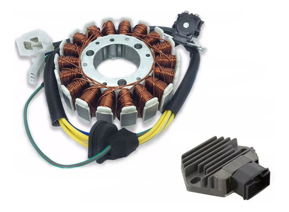 Kit Estator + Regulador Retificador Cbx 250 Twister + Pulso