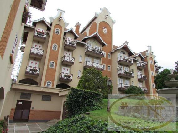 Apartamento Para Venda Em Campos Do Jordão, Capivari, 2 Dormitórios, 1 Suíte, 2 Banheiros, 2 Vagas - 129