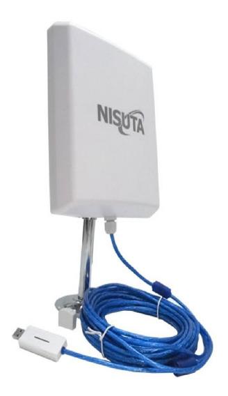 Antena Wifi Amplificador De Señal Externa 5km Nisuta