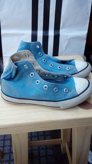 Zapatillas Converse Botita De Lona Vs Colores