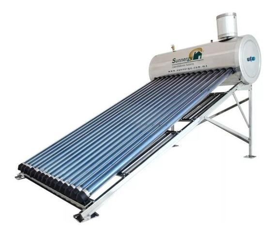 Calentador Solar Acero Alta Presión 195 Litros/15 Tubos.