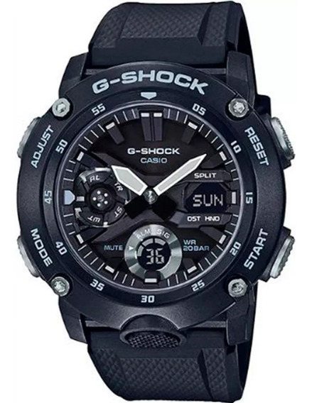 Relogio Casio G-shock Carbon Core Guard Ga-2000s-1adr + Nfe
