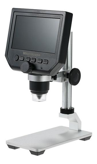 Microscopio Digital Portátil 1-600x C/ Tela Lcd