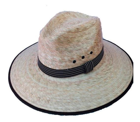Sombrero De Palma 100% Natural Tipo Indiana