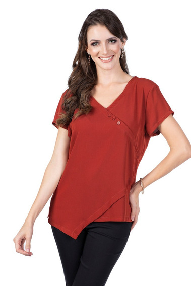 Kit Blusa Feminina Camiseta Revenda Atacado 3 Peças (05935)
