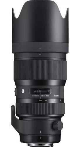 Lente Sigma 50-100 Mm Nikon Usada + Tripé Manfroto + Bolsa