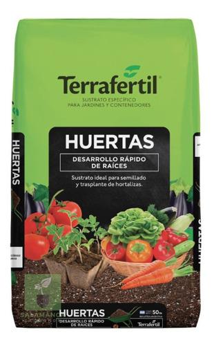 Sustrato Huerta 50 L Terrafertil - Salamanca Grow Haedo