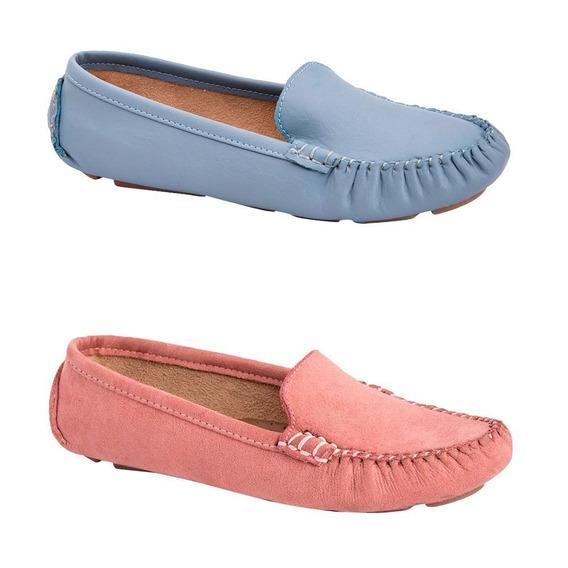 Kit De Zapatos Confort Shosh Dama Multicolor Casual Choclo
