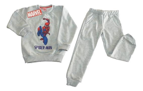 Conjunto Pantalón Y Buzo Hombre Araña Spiderman Fty Calzados