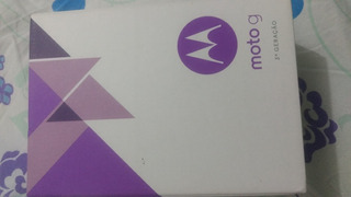 Caixa Original Moto G3 + Manual !