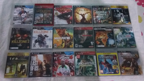 Pacote De Jogos Playstation 3 Ps3 Sony
