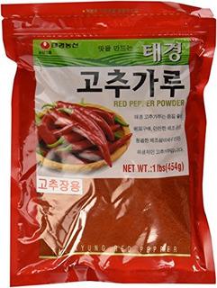 Chile Rojo Coreano Gochugaru Polvo Tipo Fino Pimiento Picant
