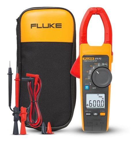 Alicate Amperímetro Fluke True-rms Ca/cc 375 Fc
