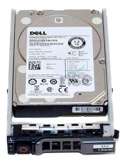Hd Dell 1.2tb Sas 10k 12g 2.5 St1200mm0088 1ff200-151 0wxpcx