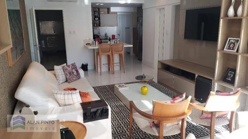 Apartamento Com 2 Dormitórios À Venda, 98 M² Por R$ 1.000.000,00 - Graça - Salvador/ba - Ap1219