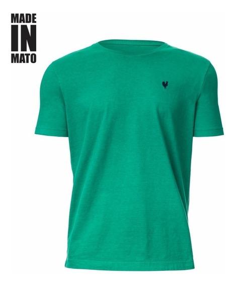 Camiseta Made In Mato Masc - Básica-verde
