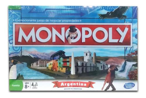 Juego De Mesa Monopoly Argentina Piezas De Metal Orig