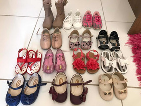 Lote 22 Calçados Infantil Diversos Menina