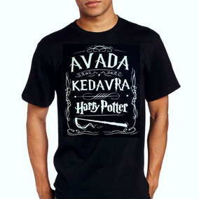 Camiseta Camisa Harry Potter Avada Kedavra