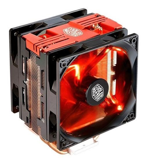 Cooler Hyper 212 Red Turbo Led Vermelho - Cooler Master Nf