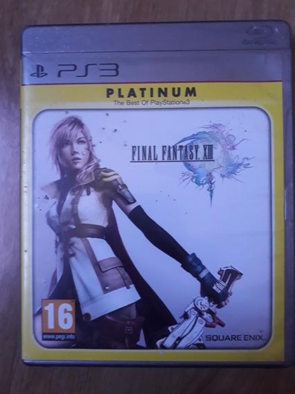 Final Fantasy Xiii Mídia Física Original Ps3 Usado