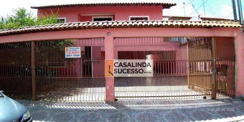 Sobrado Com 4 Dormitórios À Venda, 250 M² Por R$ 900.000 - Cidade Patriarca - São Paulo/sp - So1016