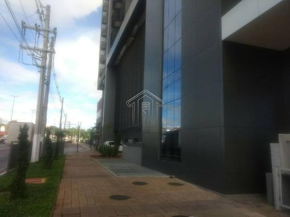 Sala Comercial Em Condomínio Para Locação No Bairro Vila Homero Thon. Ao Lado Do Shopping Atrium - 10453usemascara