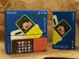 Teléfono Básico Nokia 220