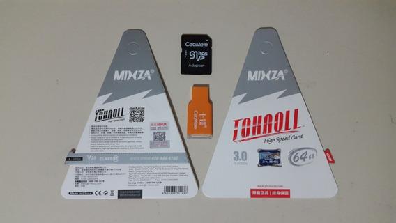 Cartão De Memória Mixza 64gb Classe 10 Tohaoll 80mb/s