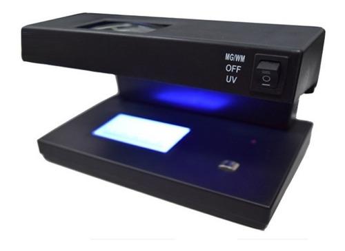 Imagen 1 de 4 de Detector De Billetes Falsos 220v Magnetico Ultravioleta Lupa