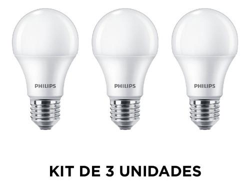 Lámpara Led Ecohome Tipo Bulbo E27, 7w/fría - Philips L27303