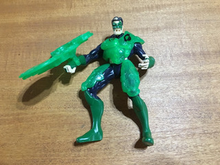 Figura Green Lantern Dc Comics / Kenner - Total Justice 1996