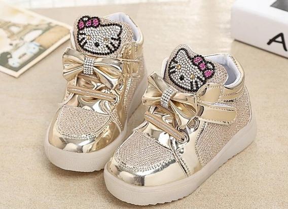Tenis Infantil Hello Kitty Tamanho 27