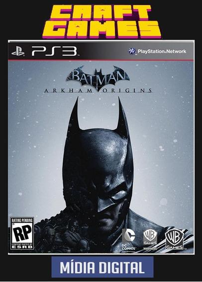 Batman Arkham Origins Psn Ps3 Envio Imediato