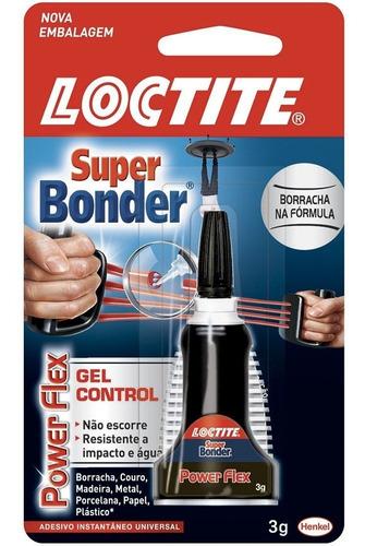 Cola Instantânea 3g Flex Gel Control Super Bonder  Bt 1 Un