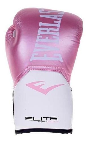 Luvas Treino Pro Style Elite V2 Everlast Rosa / Branco 12 Oz