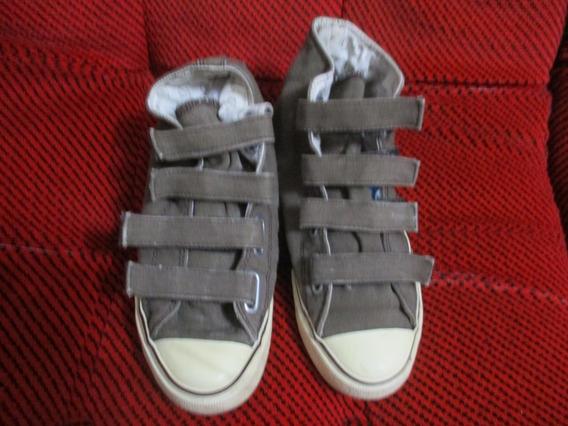 Zapatillas Davor ,de Lona, Talle 39, Unisex, Como Nuevas