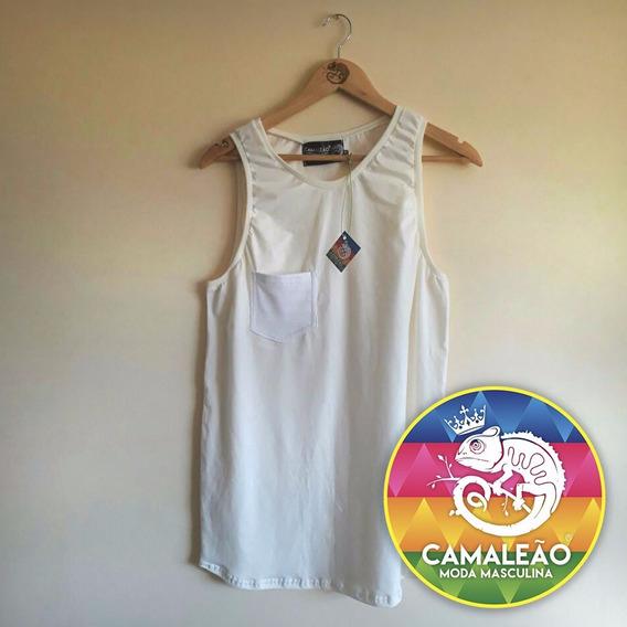 Camiseta Regata Camaleão Moda Masculina