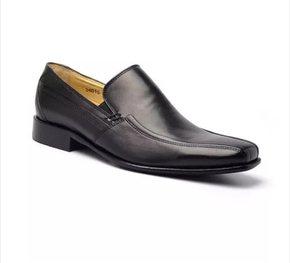 Sapato Masculino Em Couro Pelica Vegetal Ij34015