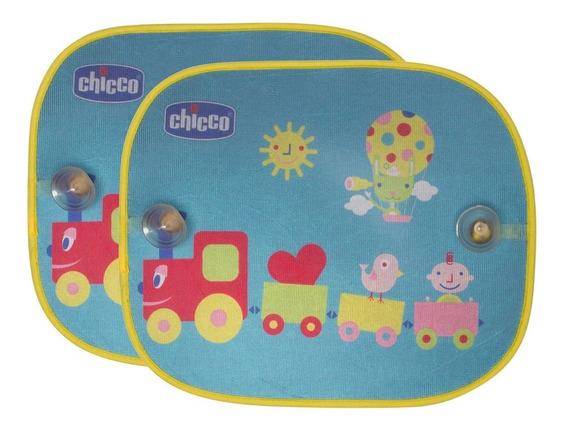 Tela Protetora Carro Bebê Quebra Sol Infantil Chicco 2pç