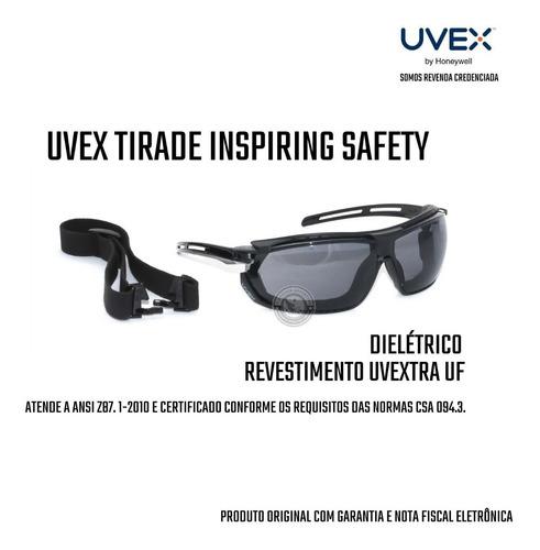 Imagem 1 de 4 de Óculos Uvex Tirade Militar Tático Airsoft Proteção Total