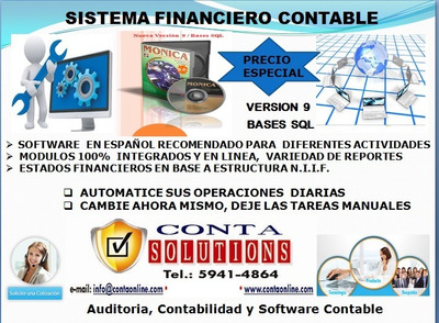 Sistema Contable Y Financiero_software Español