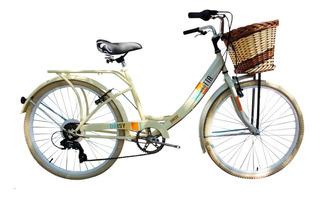Bicicleta Musetta Rodado 26 Daisy 6 Velocid // Richard Bikes