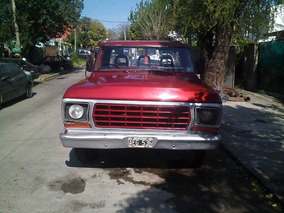 Camioneta Ford F-100 80 - Nafta Gnc -caja De 4 Saginaw