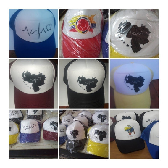 Gorras De Malla Diseños Venezuela