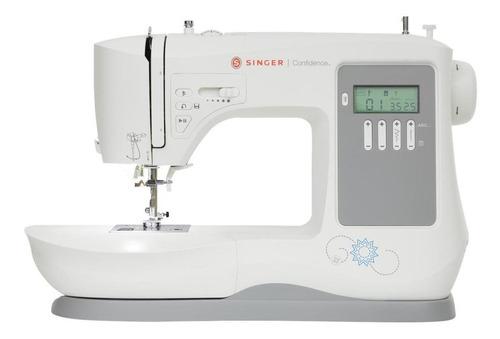 Máquina de coser Singer Confidence 7640  blanca y gris 220V