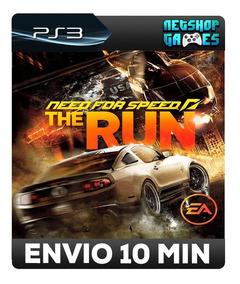 Need For Speed The Run - Psn Ps3 - Pronta Entrega
